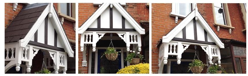 Door Canopy Repair in Wanstead, East London