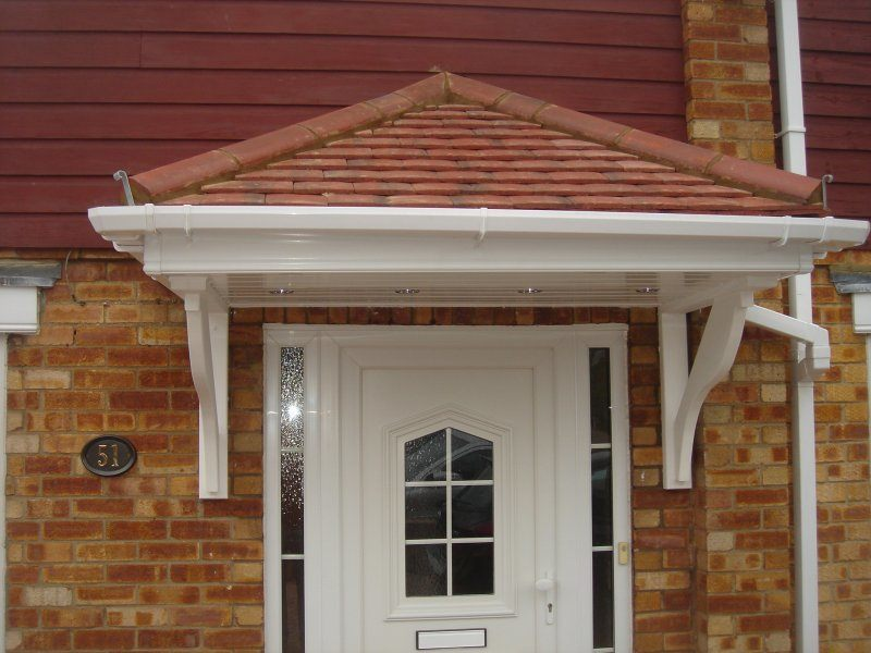 Over Door Canopy Enfield