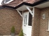 Bespoke Front Door Canopy Installation