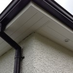 a new fascia and soffit replacement