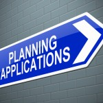 photo of a sign that says 'planning applications'