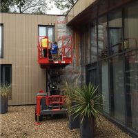 Installing James Hardie cladding