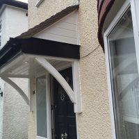 Door canopy installation Barnet