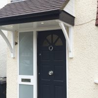 Front door canopies in Barnet