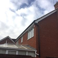 New soffits and fascias installed