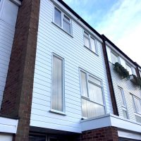 New cladding in Loughton, Essex
