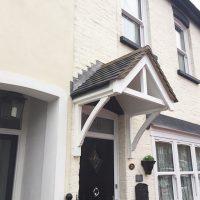 Door canopies installed in Woodford, Essex