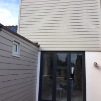 Hardiplank on extension in north London
