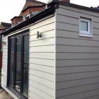 James Hardie concrete cladding