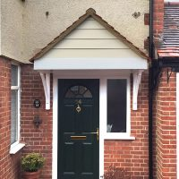Door canopy in Harrow