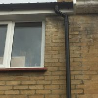 Finlock guttering replacement