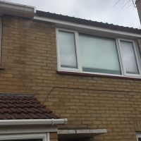 Removal of Finlock concrete guttering