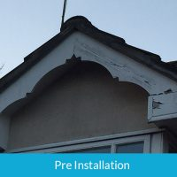 Timber fascias starting to rot