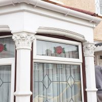 Replacement uPVC fascia and guttering