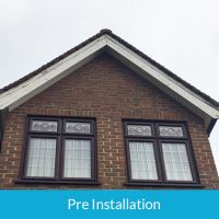 Rotten soffits and fascias in Woodford