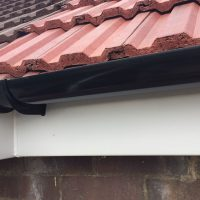 Replacement concrete gutters in Epping