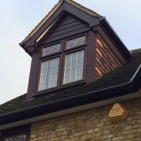 Rosewood upvc soffits and fascias