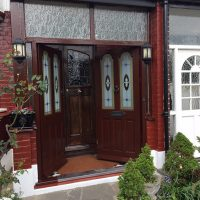 Timber porch sills replaced