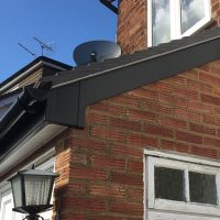 New black guttering in Potters Bar