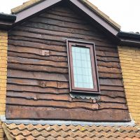 Replacement bargeboards in St Albans