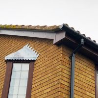 New fascias soffits and bargeboards