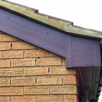 Replacement bargeboards in Hertfordshire
