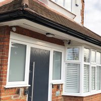 New guttering in Willesden