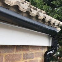 Replacing the finlock guttering