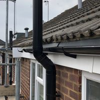 The replacement guttering
