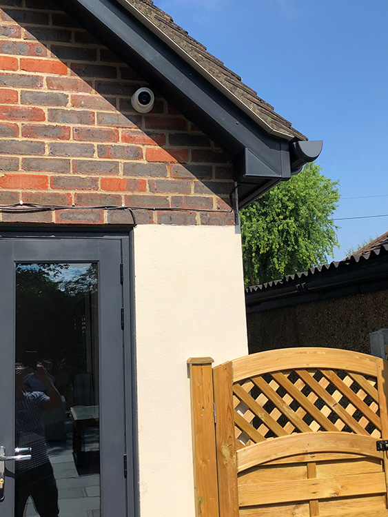 Concrete cladding, guttering and bargeboard installation ...