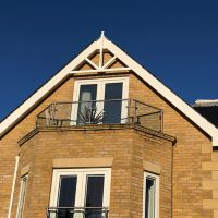 White pvc bargeboards in Enfield