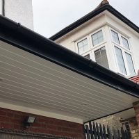 Deep flow guttering installation in Southgate