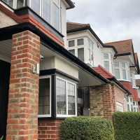 Deep flow guttering and soffits