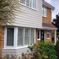 Hardieplank cladding in Hertfordshire