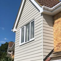 James Hardie cladding in Watford
