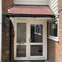 New door canopies North London