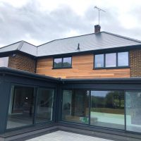 Timber cladding in Essex