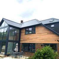 Cedar cladding in Essex