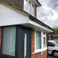 Door canopies in Bushey