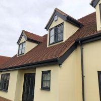 Soffits and fascia installation