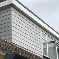 James Hardie cladding installation