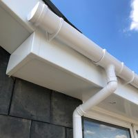 Replacement guttering and downpipes