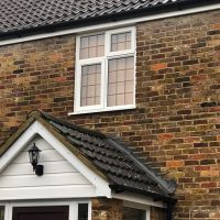 Concrete guttering replacement in Hertfordshire
