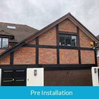 Pre installation of roofline services