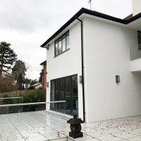 Replacement guttering in Rickmansworth