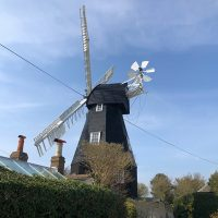 Beautiful windmill in Dover, Kent