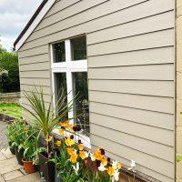Weatherproof composite cladding in Hertfordshire
