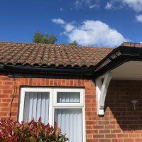 Replacement guttering installation in Surrey