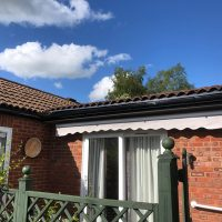 Replacement guttering, soffits and fascias