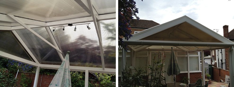 Canopy Installation in London for garden